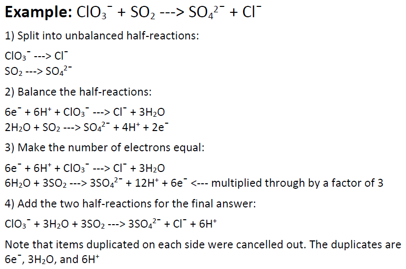 Redox Half Reactions Worksheet With Answers redox half reactions – Redox Reactions Worksheet
